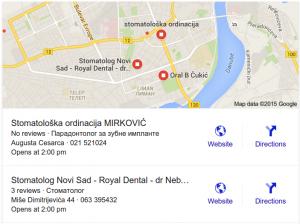 Novi Izgled Lokalnih Rezultata na Google-ovoj Pretrazi