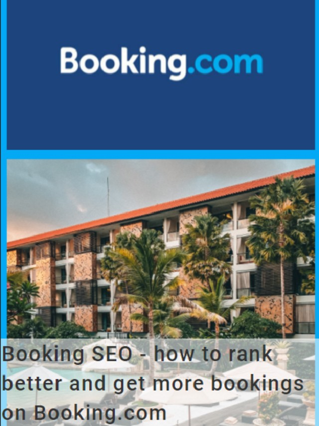 Get more bookings on Booking.com